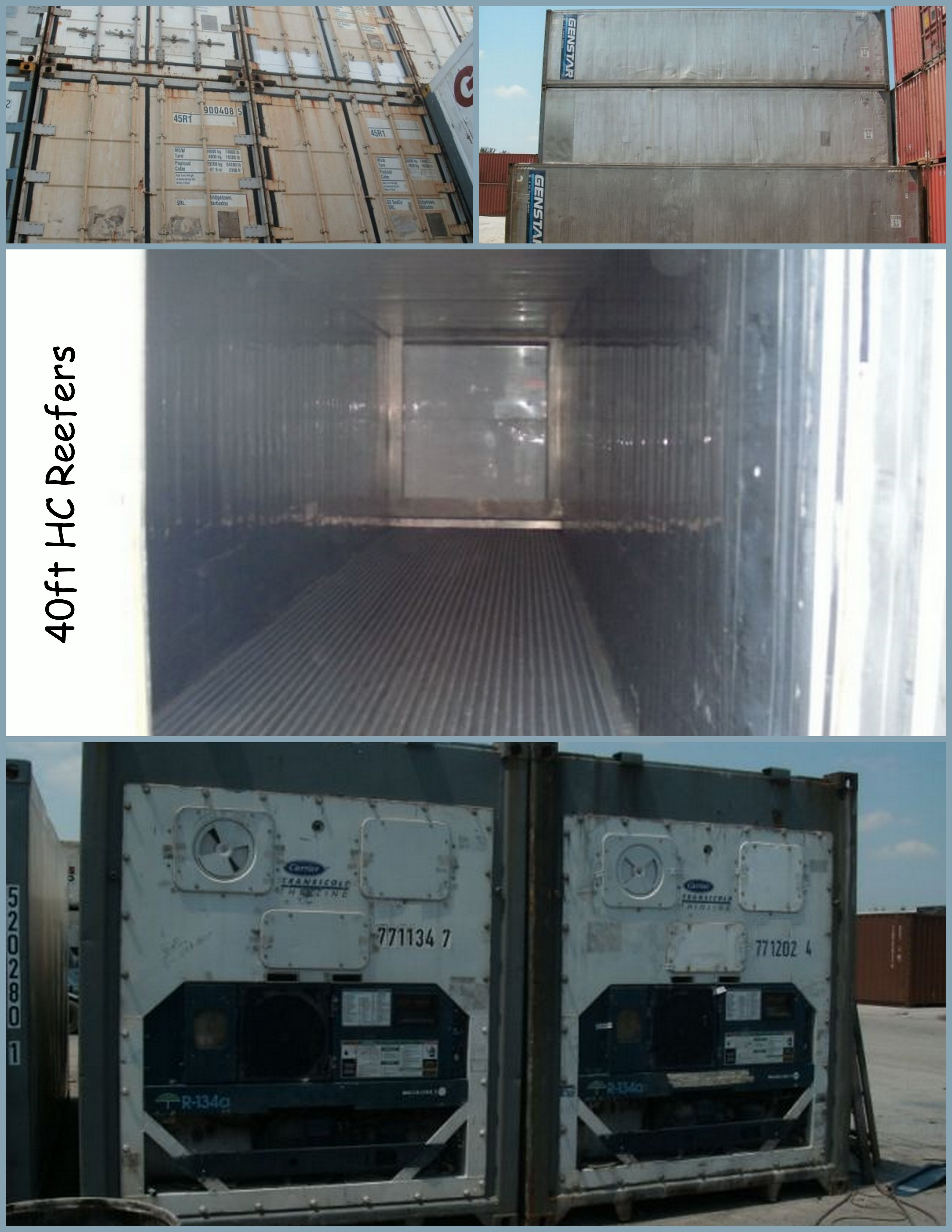 Used 40ft HC Reefers