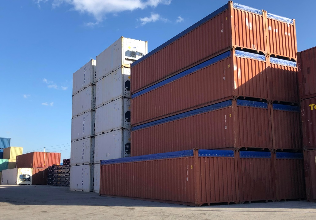 40ft Open top Containers