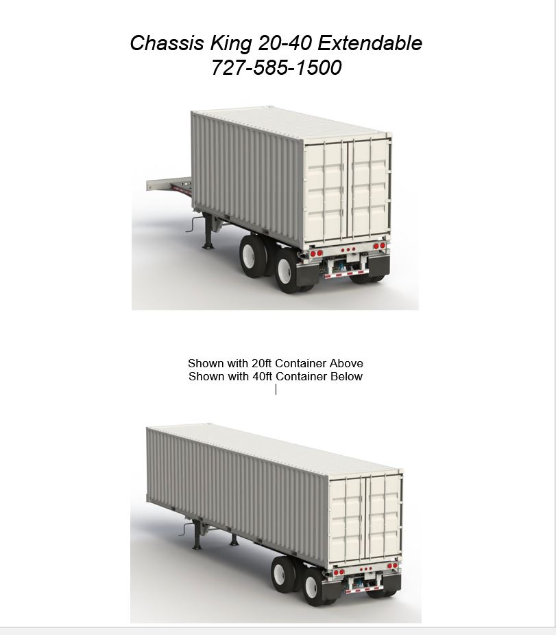 Container Chassis Lights : For sale new chassis king chassisking