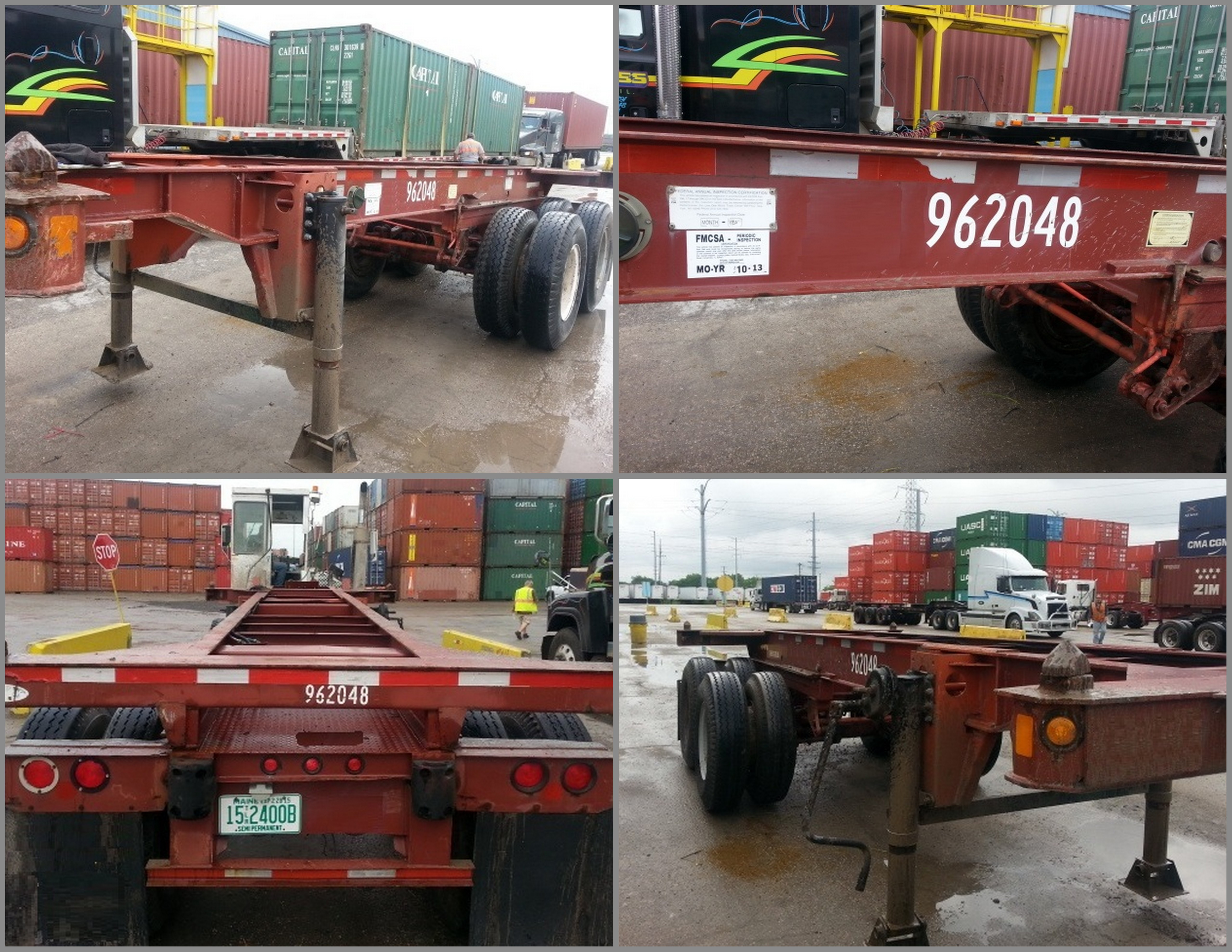 Used 20' Slider Chassis