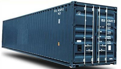 40 Foot High Cube Storage And Shipping Container ChassisKingcom