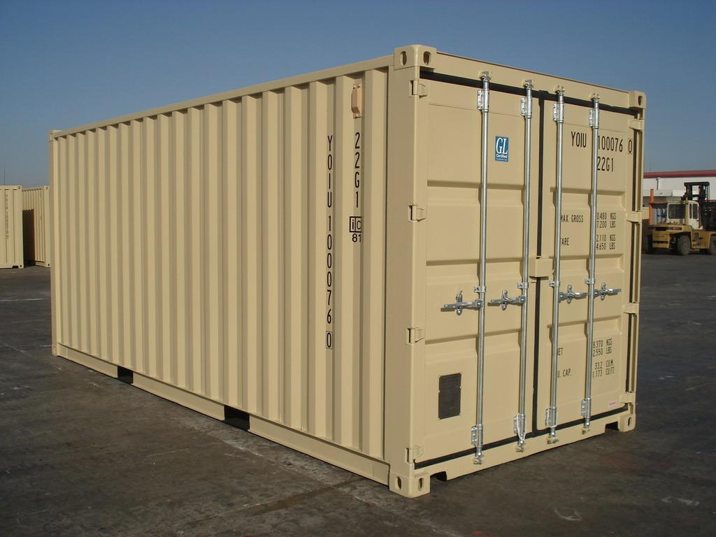 20 Foot Storage And Shipping Container ChassisKingcom
