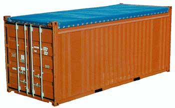 Виды контейнеров - контейнеры с открытым верхом