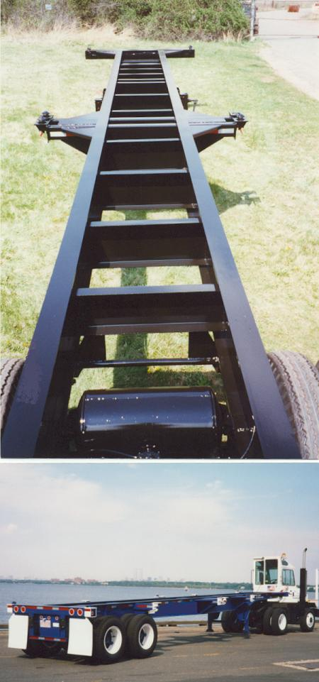 Shipping Container Trailer >> 40 Foot Straight Frame 8 Pin Chassis - ChassisKing.com