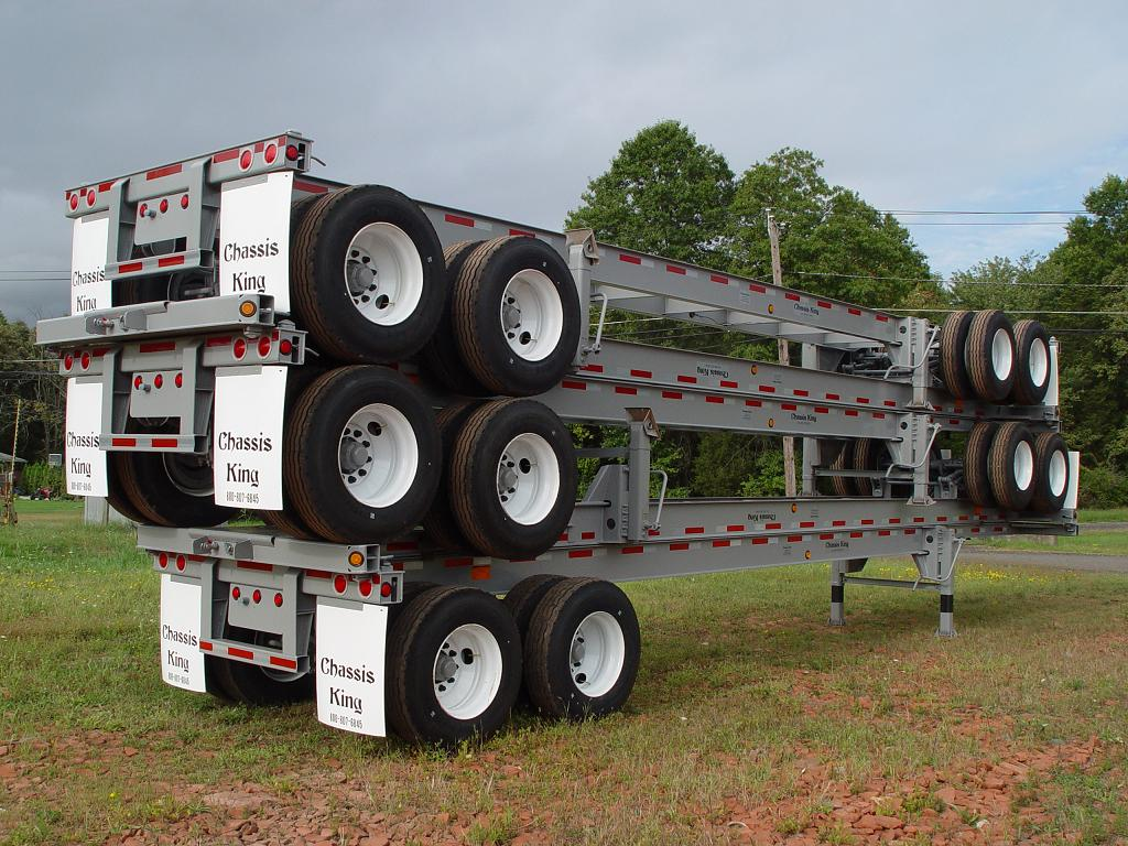 40 Foot Straight Frame Container Chassis - ChassisKing com