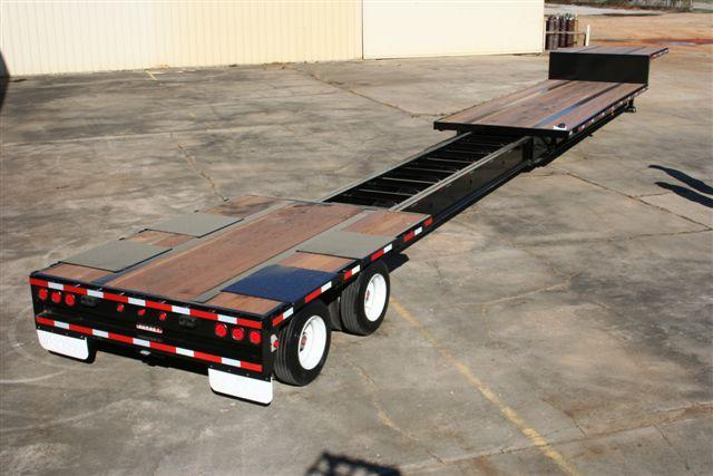 53 72 Foot Extendable Drop Deck Trailer Chassisking Com