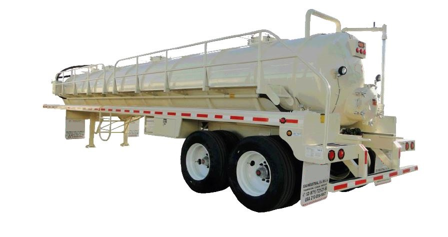 Chassis King Vacuum Tank Trailer