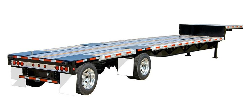 Drop Axle Weights For Tractor Trailers : Composite drop deck trailers chassisking