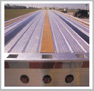 Extruded aluminum floor plank carpet vidalondon for Aluminum flooring