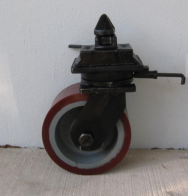 Container Caster with Polyurethane Wheel & Container Casters - ChassisKing.com