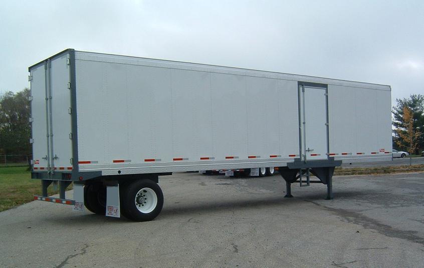 Side Door Tractor Trailer : Trailer storage van
