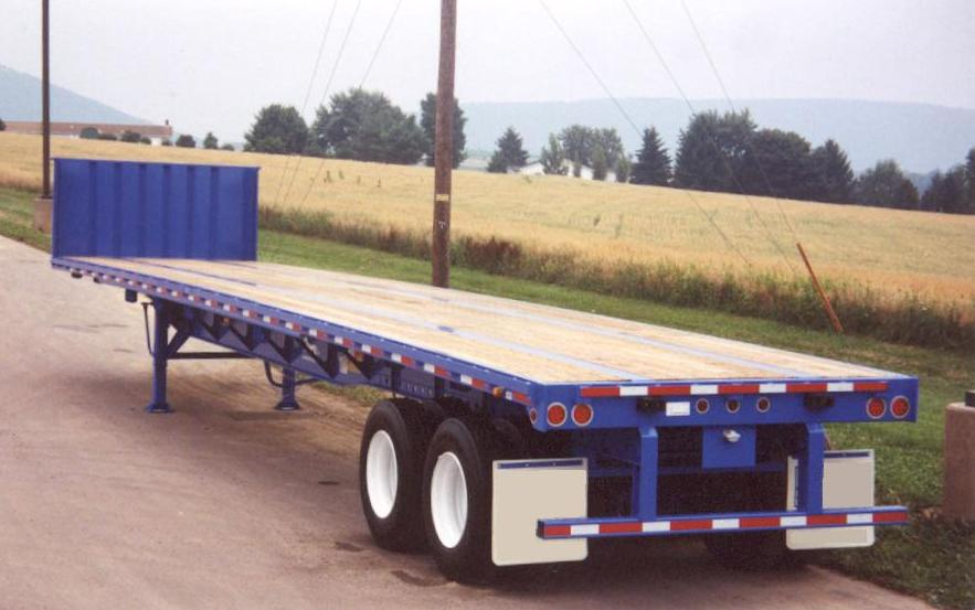Steel Flatbed Trailers Chassisking Com