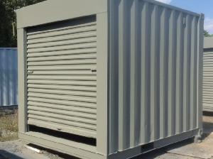 10ft container with door