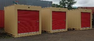 10ft container with roll up doors