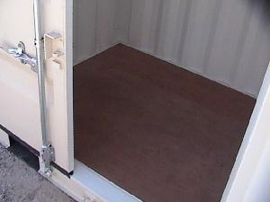 Flooring of 10ft Storage Containers