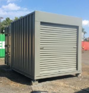 repurposed 10ft container