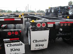 20-40 Foot Tri-Axle 12 Pin Slider Chassis