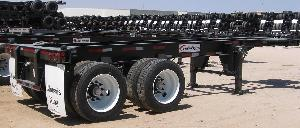 20 foot Flushback Container Chassis