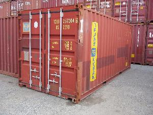 20 Foot Used Dry Freight Container