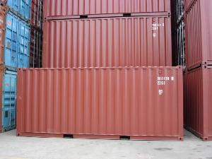 Stack of 20ft Containers