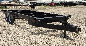 20 foot bumper pull container chassis