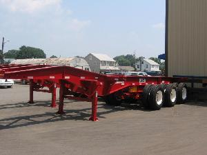 20 ft Tri-Axle Slider Container Chassis