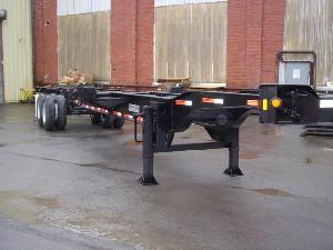 40 Foot Gooseneck 8-Pin Combo Chassis