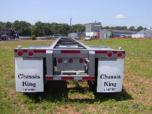 40 Foot Straight Frame Container Chassis