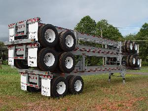 40 Foot Straight Stacked for Shipping