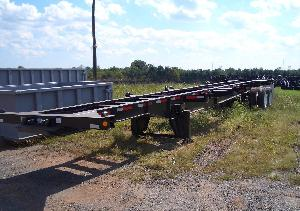 40 Foot Straight Frame 12 Pin Chassis