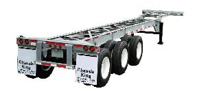 40 foot Triaxle Chassis