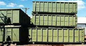 Heavy Duty Roll Off Waste Containers