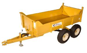 Chassis King Dump Trailer