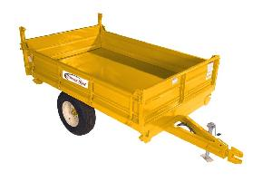Chassis King Dumping Trailer