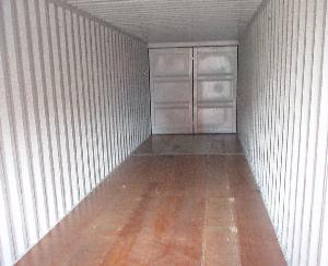 Inside of New Container