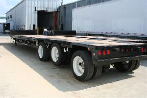 Triaxle Drop Deck with Lift Axle