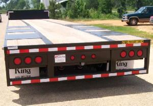 Wood Flooring of Triaxle Drop Deck